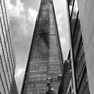 The Shard - London UK by Norman Repacholi