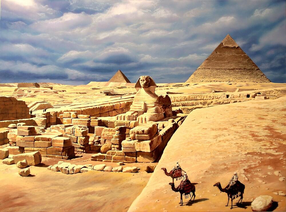 Giza by Plamen Dimitrov