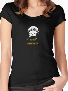 Hello Trafalgar Law Women's Fitted Scoop T-Shirt
