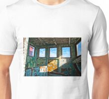 An old wooden shed Unisex T-Shirt