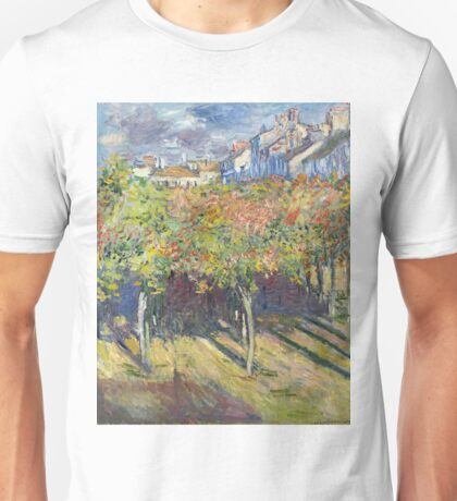 Claude Monet - The Limes At Poissy, 1882 Unisex T-Shirt