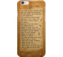 Don't Be An Ant iPhone Case/Skin