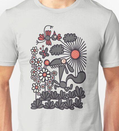 Unrelenting Happygoluckiness Unisex T-Shirt