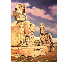 Colossus of Memnon Photographic Print