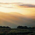 Bogong Sunset by Ern Mainka