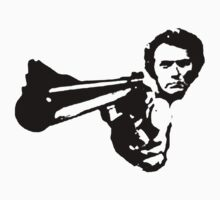 a dirty harry t-shirt by ralphyboy