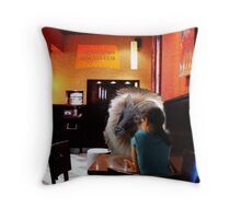 Come here often? Throw Pillow