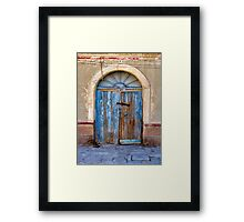 Doors of Bolivia Framed Print