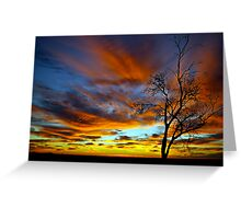Australian Sunrise Greeting Card