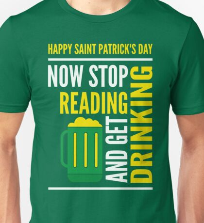 Saint Patrick's Day fun Unisex T-Shirt