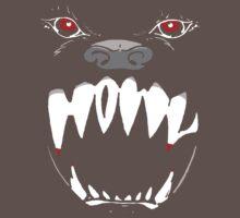 Howl (On Black) by ShopNCF