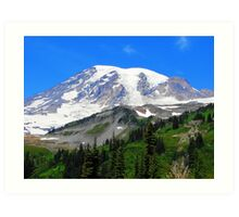 Mount Rainier 541 Art Print