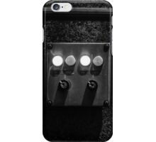 Bright Buttons, Twitchy Fingers. iPhone Case/Skin
