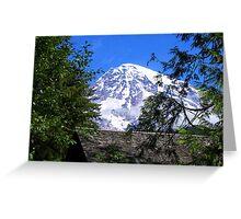 Mount Rainier 096 Greeting Card