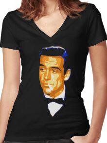 bond james bond Women's Fitted V-Neck T-Shirt