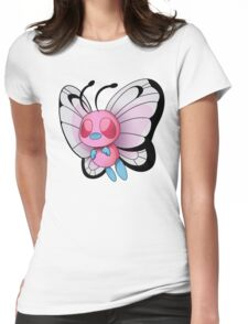 Female Bdutterfree Womens Fitted T-Shirt