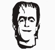 herman munster t-shirt Kids Tee