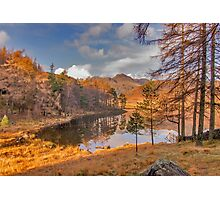 Autumn at Blea Tarn Photographic Print