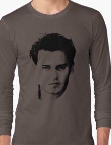 johnny depp t-shirt Long Sleeve T-Shirt