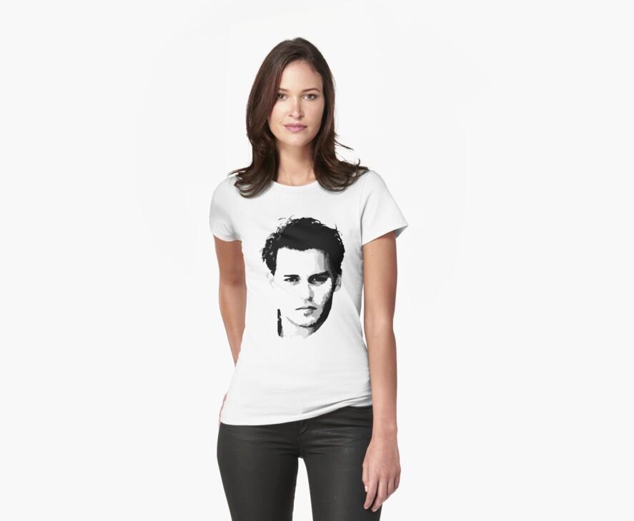 johnny depp t-shirt by ralphyboy