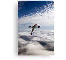 Slipping the surly bonds poster version Canvas Print