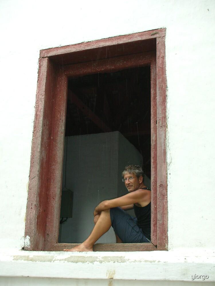 Window portrait by yiorgo