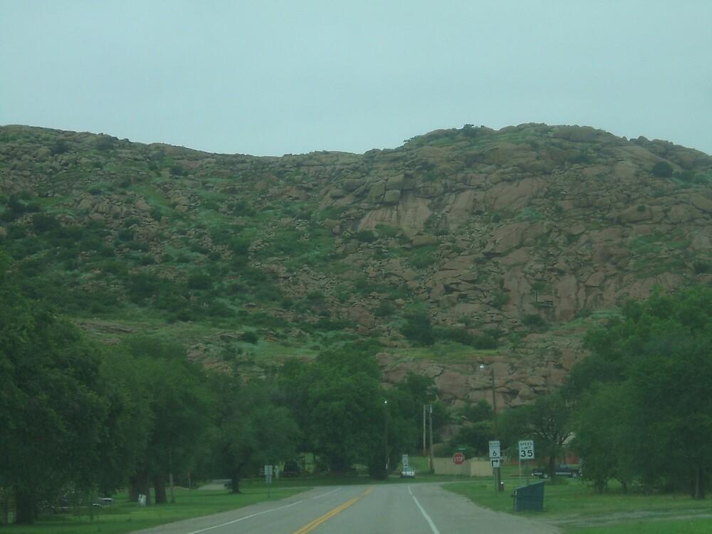 Rocks of Oklahoma by Raquel