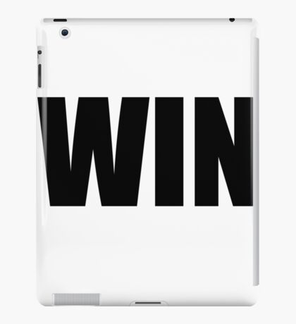 Win iPad Case/Skin