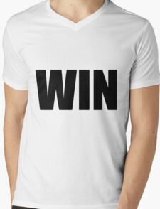 Win Mens V-Neck T-Shirt