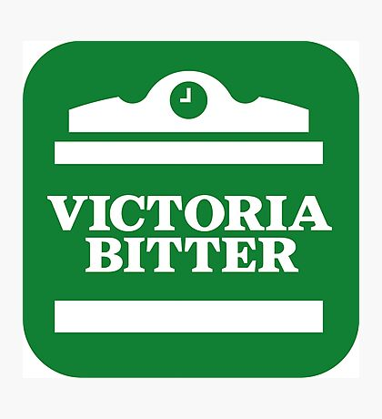 victoria bitter Photographic Print