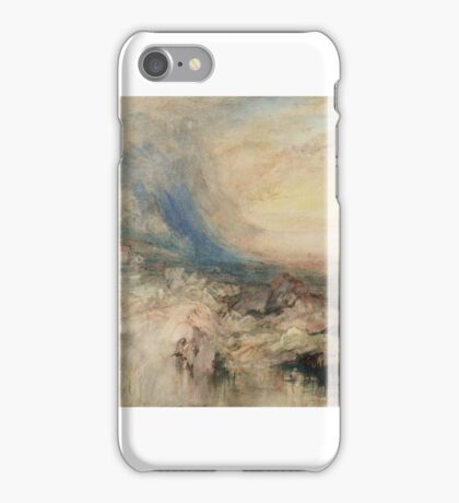 Joseph Mallord William Turner    Goldau, with the Lake of Zug in the Distance iPhone Case/Skin
