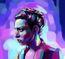 A Colourful Portrait by Kate Moon