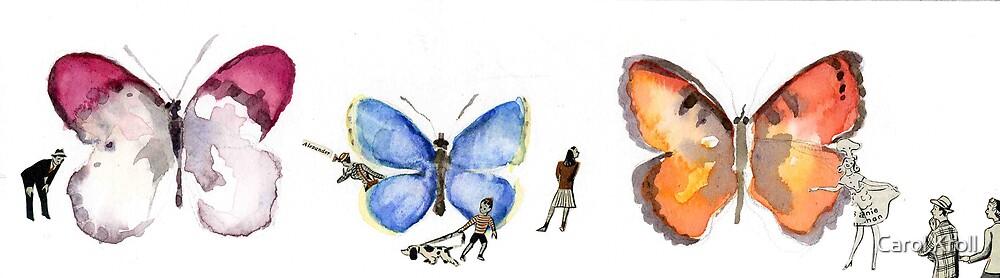 Butterfly Museum Lobby #1 by Carol Kroll
