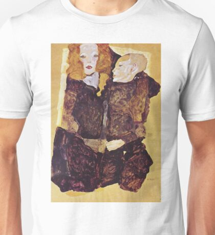 Egon Schiele - The Brother 1911 Unisex T-Shirt
