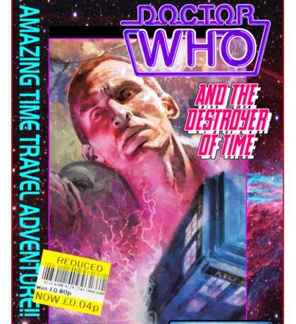 9th Doctor Commodore 64 Video Game Cover! Sticker