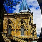 Magnificent Church Of Biblian by Al Bourassa