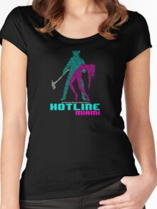 Do You Like Hurting Other People? Women's Fitted Scoop T-Shirt