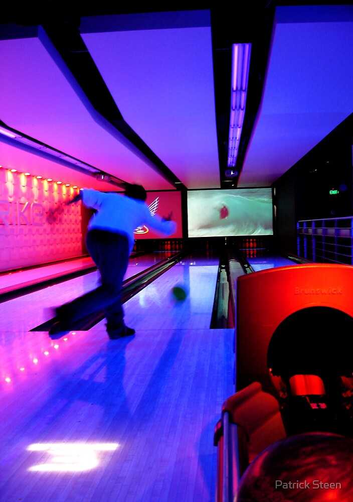 Bowling in Blue by Patrick Steen