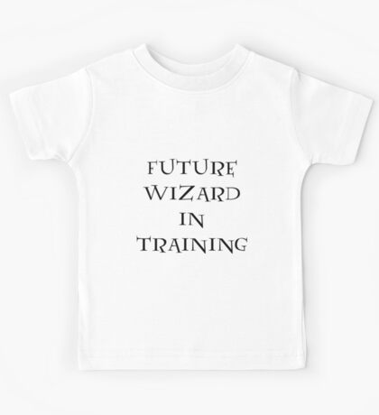 Future Wizard in Training Kids Tee