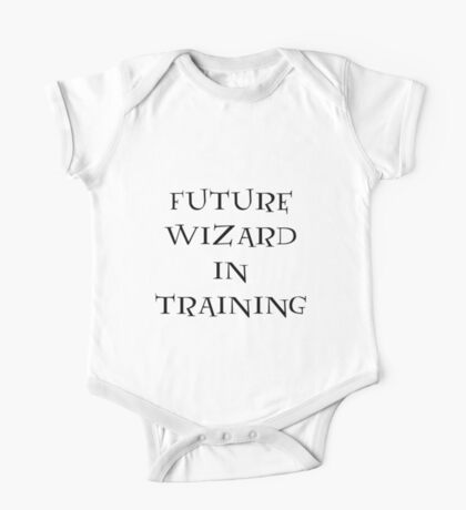 Future Wizard in Training One Piece - Short Sleeve