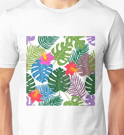 Tropical paradise pattern. Unisex T-Shirt