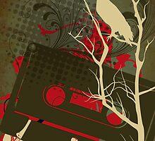 eagle cassette by Narelle Craven