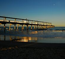 The Sand Piping Pier by Fiona Law