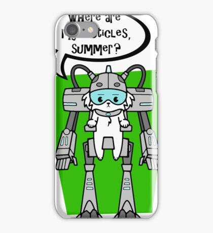 where are my testicles summer? iPhone Case/Skin
