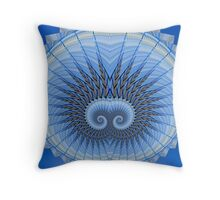 Spiral Mania 5 Throw Pillow