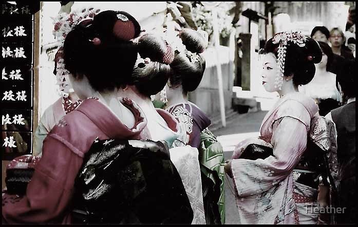 Geisha group by Heather