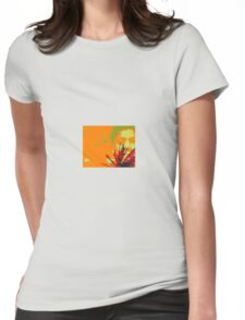 A Mexican Boy in a frame Womens Fitted T-Shirt