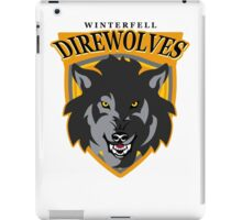 Winterfell Direwolves iPad Case/Skin