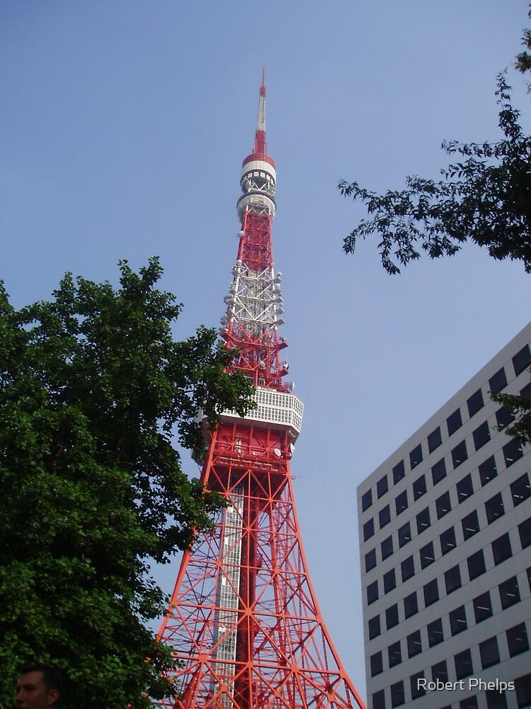 Tokyo Tower - 東京タワー  by Robert Phelps