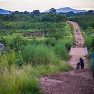 Rush hour in rural Mozambique by Tim Cowley